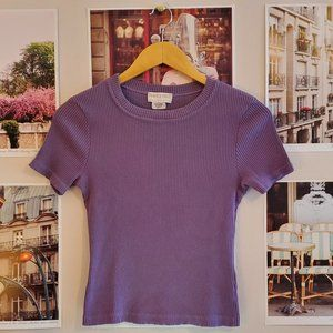 Vintage 90s Peace X Piece Elements Ribbed Top